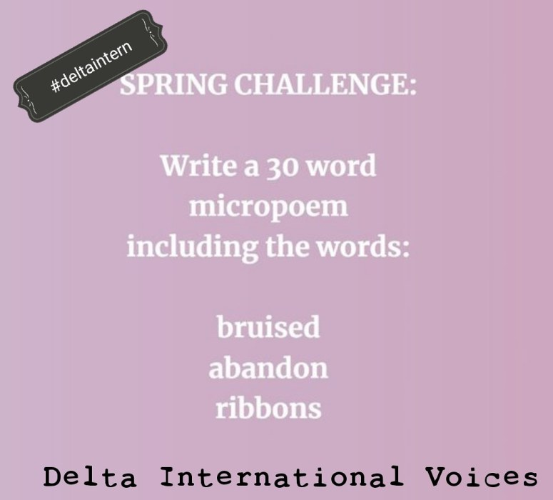 25.3.18 spring poetry challenge