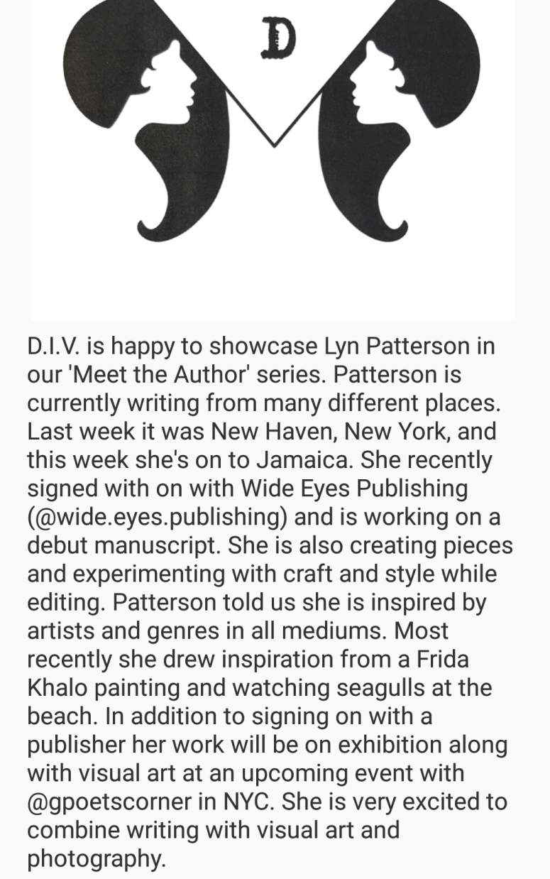 29.8.18 meet the author lyn patterson II